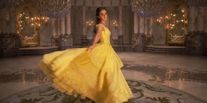 Бальное платье для Белль