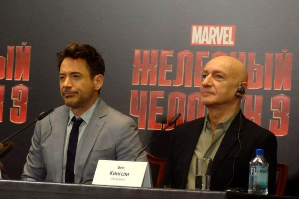 Robert Downey Jr i Ben Kingsley