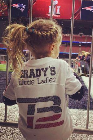 Doch Gisele Bundchen i Tom Brady
