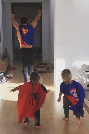 Chris Hemsworth i deti 2