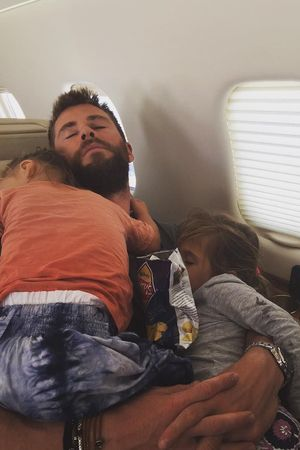 Chris Hemsworth i deti