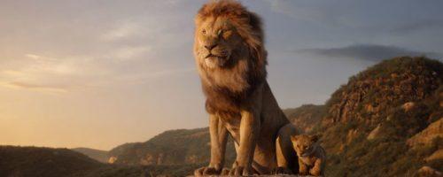 Живой король лев