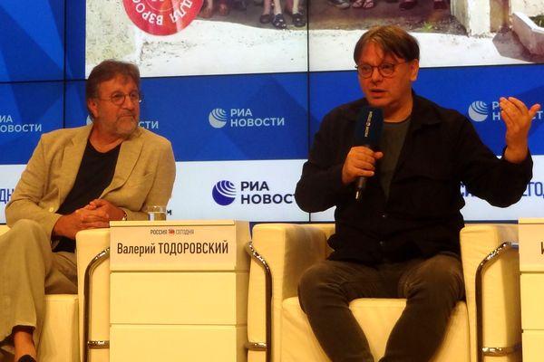 Leonid Yarmolnik i Valeriy Todorovskiy