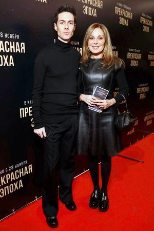 Mark Tishman i Sati Spivakova