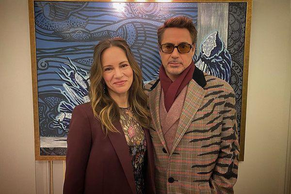 Susan i Robert Downey