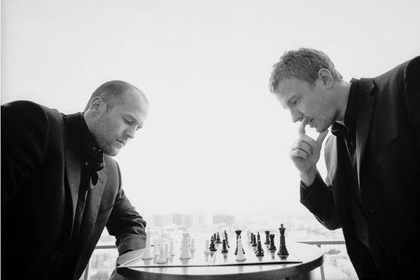 Jason Statham i Guy Ritchie