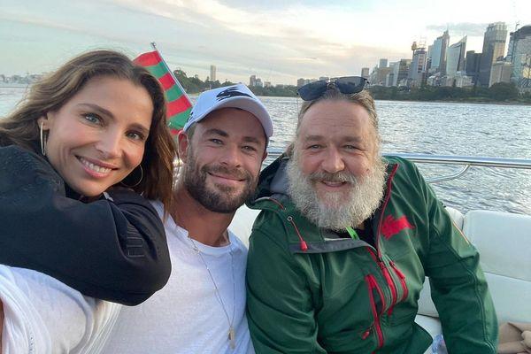 Chris-Hemsworth-Elsa-Pataky-i-Russell Crowe