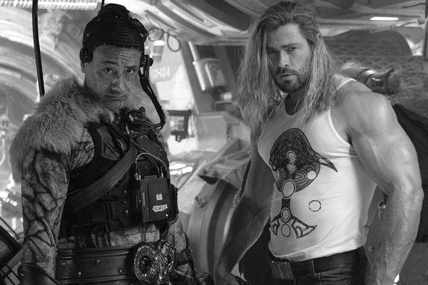 Taika-Waititi i Chris-Hemsworth